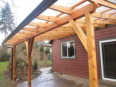 Roof sleekstained