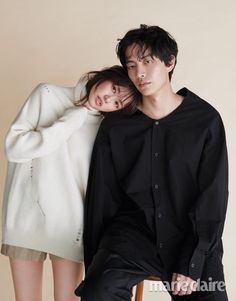 "Lee Min Ki and Jung So Min for Marie Claire + ""This Life is Our First"" extended trailer: omonatheydidnt — LiveJournal Young Actresses, Korean Actresses, Asian Actors, Korean Actors, Actors & Actresses, Jung So Min, Korean Couple, Best Couple, Lee Min"