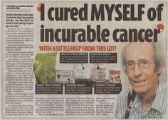 Sconfigge il Cancro con la sola Dieta: Allan Taylor