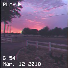 M O O N V E I N S 1 0 1          #vhs #aesthetic #sunset #pink #purple #road