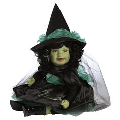 WICKED WITCH OF THE WEST WIZARD OF OZ CHARISMA ADORA BABY DOLL FOR HALLOWEEN #ADORADOLLS #Dolls