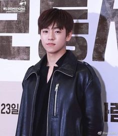 Bello  💜  #LeeHyunWoo Lee Hyun Woo, Asian Boys, Bellisima, Army, Leather Jacket, My Love, Korea, Instagram, Studded Leather Jacket