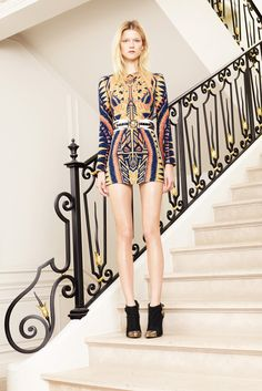 Balmain Resort 2012 Fashion Show - Kasia Struss (Women)