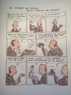 A Guide To British Cuisine Graphic Novels, Comic Strips, Illustrators, Berry, Dan, Comics, Comic Books, Illustrator, Bury