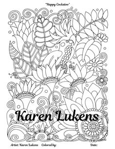 Check Out This Item In My Etsy Shop Listing 494515591 A Gnome Home 1 Adult Coloring Book Page