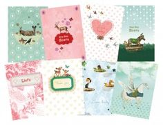 Pimpelmees, so cute! Pretty, delicate designs, love their collection birth- and weddingcards...
