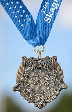 Skagit Flats Half Marathon 2012 medal