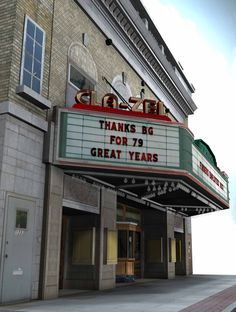 Cla-Zel Theatre heritage project; Bowling Green Ohio - 16,000 polygon total.