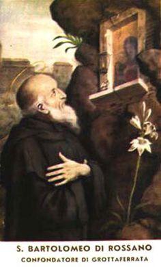 St. Bartholomew of Rossano pray for us.  Feast day November 11.
