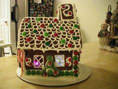 Synergy Mom: gingerbread house tutorial
