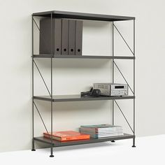Tria Floor Unit - Grey by Mobles 114 | MONOQI #bestofdesign