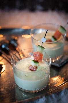 Ipa, Ginger Cocktails, Happy Hour, Mets, Panna Cotta, Ethnic Recipes, Food, Chic, Salmon Skewers