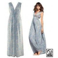 Blue Bohemian Maxi Dress - Special Deals