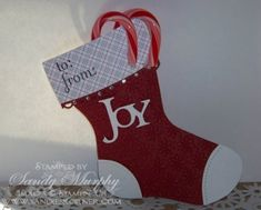 Stampin Up Big Shot Bigz Die Cut Holiday Stocking SUO Holiday Mini SUO Christmas Gifts
