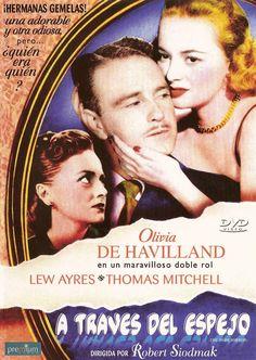A través del espejo (1946) EEUU. Dir: Robert Siodmak. Suspense. Cine negro - DVD CINE 625