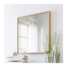 STAVE Spiegel - Eicheneffekt weiß lasiert - IKEA