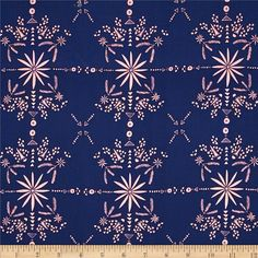 Cotton & Steel Paper Bandana Rayon Indigo from @fabricdotcom  Designed by Alexa Marcelle Abegg for Cotton + Steel, this very lightweight rayon challis fabric has a smooth luxurious hand and soft, liquid drape. Perfect for fuller skirts & dresses, blouses, shirts, scarves and tunics.  Colors include navy blue and pink.