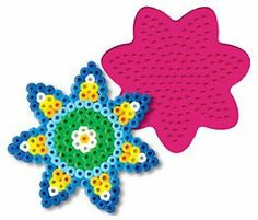 Daisy by Perler. $1.99. PERLER BEADS DAISY PEGBOARD. HOURS OF FUN EASY AS 123. TO BE USED WITH IRON ON BEADS. Perler Bead Pegboard - Daisy