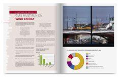 Klimaplan - Monokrom grafisk design. Tryksager, logodesign, magasindesign og webdesign.