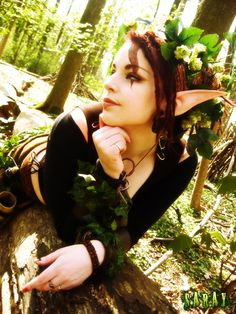 Wood Elf - Final by saray on DeviantArt Elf Cosplay, Halloween Cosplay, Cosplay Outfits, Light Of Life, Light In The Dark, Faerie Costume, Elven Costume, Renaissance, Forest Elf