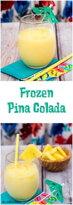 ... frozen pina colada have a taste of the tropics with a homemade frozen