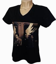 Camisetas e baby look, com tema do seriado Supernatural. <br>Tecido 100% algodão. <br>Peça já a sua, fazemos com seu tema favorito. <br>Vários tamanhos e cores. <br>Entrega rápida.