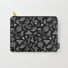 Modern Witch - Black Carry-All Pouch