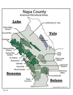 Us Napa Wine Region By Atwine Educators