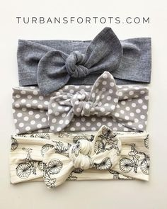 Best Basics  Top Knots Baby Headbands