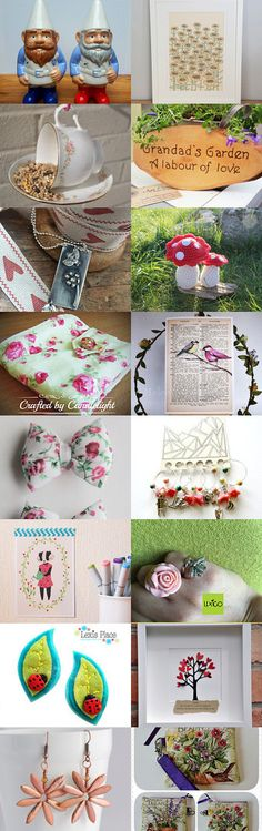 Gardening Club by Diane Daisy Felts on Etsy