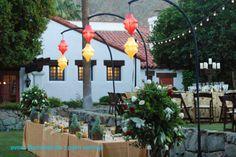 La Quinta Weddings. custom event lighting by:  http://www.eventilluminations.com