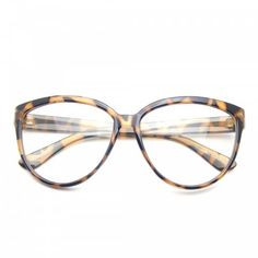 Tag your photos using #EENerdCat on our Instagram!Timeless classic, this oversize clear lens cat eyed fashion glasses. True to its original design, this oversized retro pair ofglassesis truly geek chic. This item features prescription lens,metalhinges; nose piece and a clear polycarbonate 100% UV high impact-resistantprotected lenses.Make a Statementin these shades!Lens Width: 58mmNose Bridge: 12mmLens Height: 44mmTotal Width: 145mm