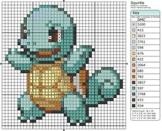 7 - Squirtle II by Makibird-Stitching.deviantart.com on @deviantART