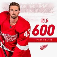 Detroit Red Wings Hockey Club (@detroitredwings) • Instagram photos and videos Detroit Hockey, Hockey Teams, Darren Helm, Detroit Red Wings, Club, Baseball Cards, Photo And Video, Videos, Photos