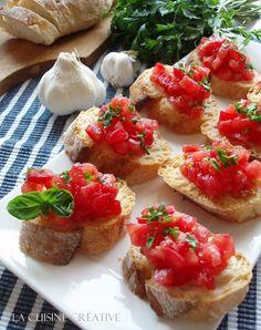 La cuisine creative: Bruskete sa paradajzom