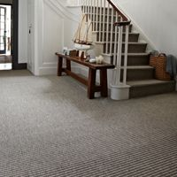 Carpetright - space, space, space #hall / #stairs / #landing / Interior Design   Home in 2019   Carpet stairs, Hallway carpet, Bedroom carpet