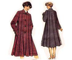 Swing Coat Sewing Pattern Uncut New Look 6938 Sizes 8 18