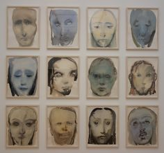 Jesus Serene Watercolour & pencil on paper Names Of Artists, Great Artists, Woman Painting, Painting & Drawing, Marlene Dumas, Watercolor Pencils, Watercolour, Face Art, Art Faces