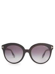 TOM FORD SUNGLASSES  Monica acetate sunglasses DH735 / £164