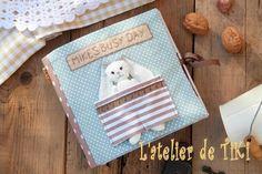 Quiet book Mike, Livre en tissu d'eveil : Jeux, jouets par l-atelier-de-tiki