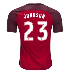 a37de4fe3be Fabian Johnson 23 USMNT 2016 USA Men s Third Soccer Jersey - Red. Usa  National TeamSoccer ...