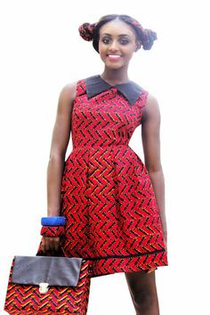 Red Apple Dress | Emua Online Store