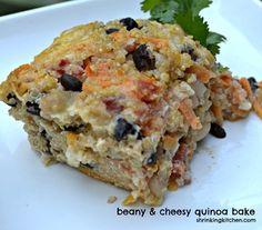 Cheesy Quinoa Bake