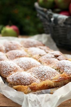 Polish Desserts, Polish Recipes, New Recipes, Cake Recipes, Vegetarian Recipes, Polish Food, Recipies, Baking And Pastry, Apple Cake