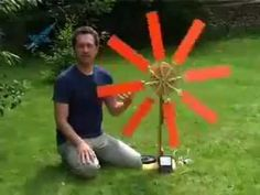 Converting a car alternator into wind generator: Assembled - YouTube