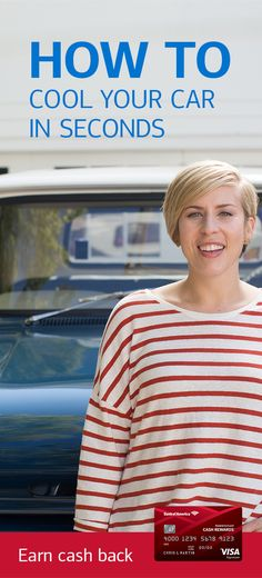 After baking in the summer heat, your car can feel like a sauna. Find out how to cool it down by 10 degrees or more in just seconds with this idea from design and home experts Erin and Ben Napier. Here's another car tip: earn 3% cash back on gas with the BankAmericard Cash Rewards™ credit card. Learn more.