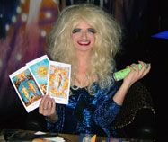 Drag Tarot Readings camp banter and predictions to blow your pants off! A scandalous mixture of skilled tarot readings dished up with camp banter, a lot of girlie giggles, a little back combing; glitter and possibly some wardrobe advice; the biggest shock Corporate Entertainment, Party Entertainment, Are Psychics Real, Back Combing, Tarot Readers, Scandal, Corporate Events, Portrait, Einstein