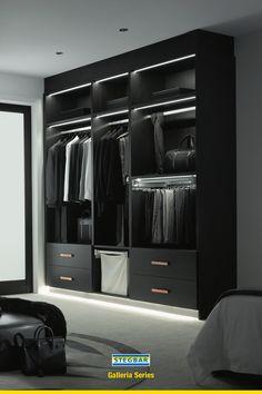 Wardrobe Interior Design, Walk In Closet Design, Wardrobe Design Bedroom, Bedroom Closet Design, Home Room Design, Closet Designs, Modern Closet, Modern Wardrobe, Luxury Wardrobe