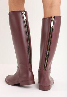 1d2b454af Резиновые сапоги: лучшие изображения (40)   Rain boots, Fall winter ...