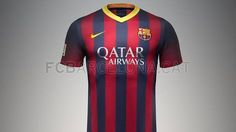 First team kit Fc Barcelona, One Team, Sports, Mens Tops, Kit, Inspiration, Fashion, Photos, Hs Sports